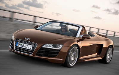 2010 Audi R8 Spyder Wallpaper