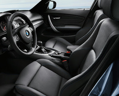 2010 BMW 1-Series Interior
