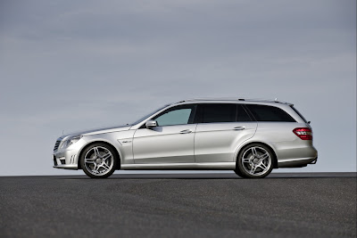 2010 Mercedes-Benz E63 AMG Estate Side View