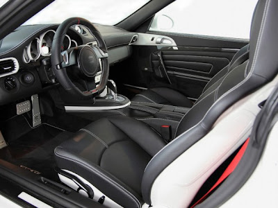 2010 TechArt Porsche 911 Carrera 4S Interior