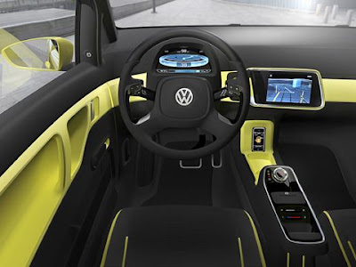 2009 Volkswagen E-Up Concept Interior