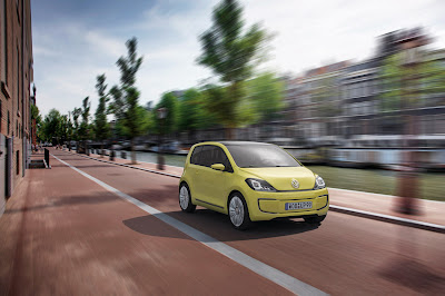 2009 Volkswagen E-Up Concept Car Wallpaper