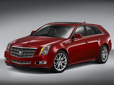 2010 Cadillac CTS Sport Wagon Luxury Car