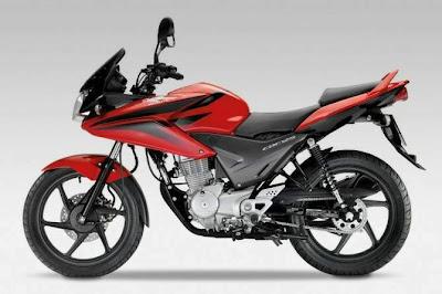 2009 Honda CBF125 Side View