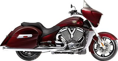 2010 Victory Cross Country Red Color