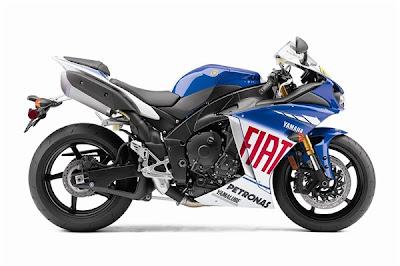 2010 Yamaha YZF-R1 LE Valentino Rossi Replica