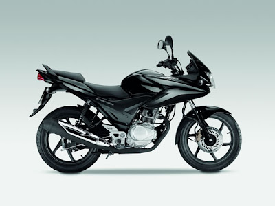 2009 Honda CBF125 Black Color