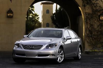 Automotive Area: 2009 Lexus LS 600h L