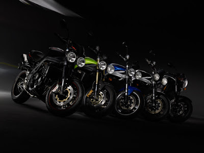 2010 Triumph Speed Triple Motorcycle Gallery