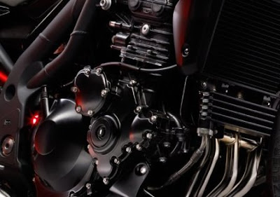 2010 Triumph Speed Triple Engine