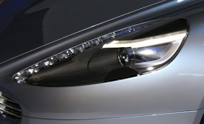 2011 Aston Martin Rapide Headlight