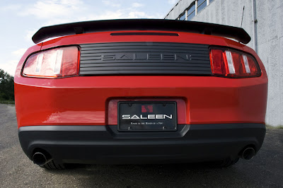 2010 Saleen 435S Mustang Rear View