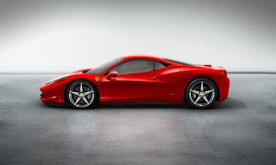 2011 Ferrari 458 Italia Side View