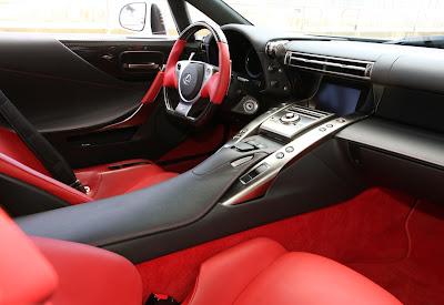 2011 Lexus LFA Interior