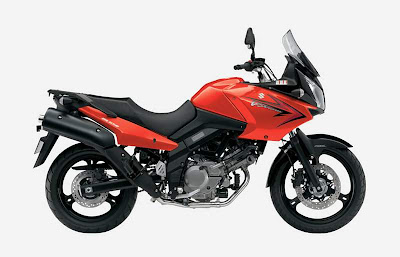 2010 Suzuki DL 650 V-Strom Red Color
