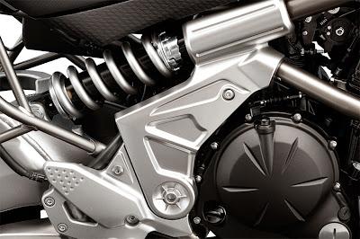 2010 Kawasaki Versys Rear Shock