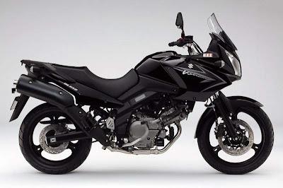 2010 Suzuki DL 650 V-Strom Pure Black