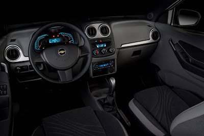 2010 Chevrolet Agile Interior