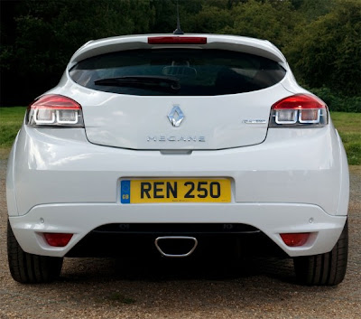 2010 Renault Megane RS Rear View