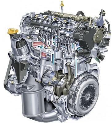 2010 Opel Corsa ecoFLEX Engine