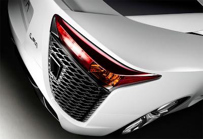 2011 Lexus LFA Taillight