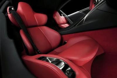 2011 Lexus LFA Seats
