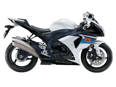 2010 Suzuki GSX-R1000 Motorcycle