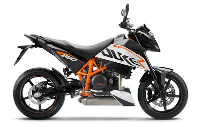 2010 KTM 690 Duke R Side View