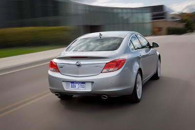 2011 Buick Regal Rear Angle View