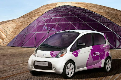 2010 Citroen C-ZERO Car Wallpaper