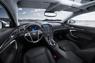 2011 Buick Regal Interior