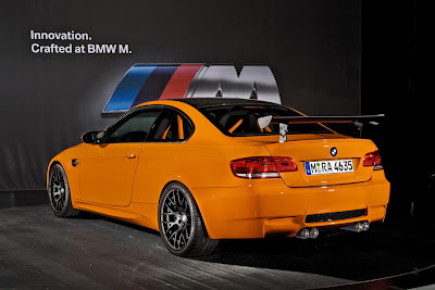 2011 BMW M3 GTS Rear Angle View