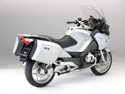 2010 BMW R 1200 RT Rear Angle View