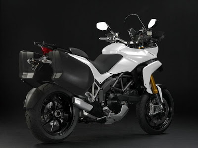 2010 Ducati Multistrada 1200 White Color