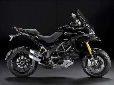 2010 Ducati Multistrada 1200 Black Wallpaper