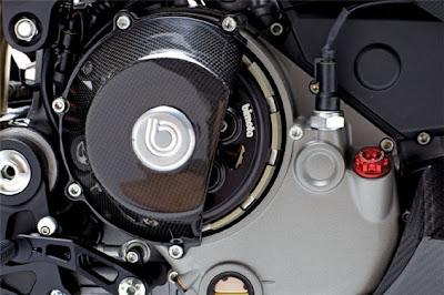 2010 Bimota DB7R Diavolo Rosso Engine