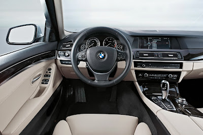 2011 BMW 5-Series Interior