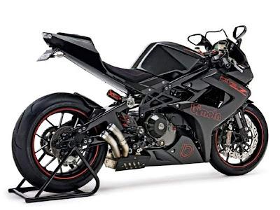 2010 Bimota DB7R Diavolo Rosso Sport Bike