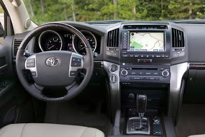 2010 Toyota Land Cruiser Interior