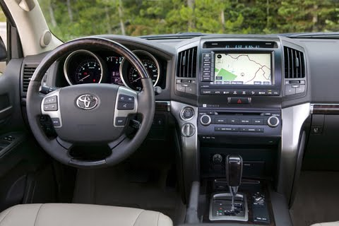 Toyota Land Cruiser 2009 Interior. 2010 Toyota Land Cruiser
