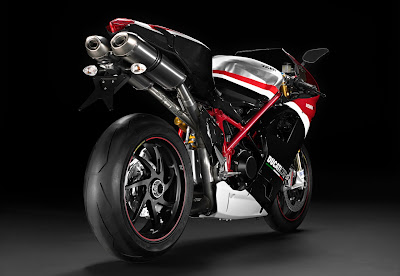 2010 Ducati 1198R Corse Special Edition Rear Side View