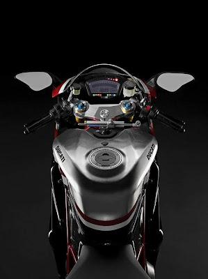 2010 Ducati 1198R Corse Special Edition Dashboard