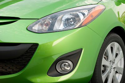 2011 Mazda2 Headlight
