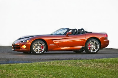 2010 Dodge Viper SRT10 Side View