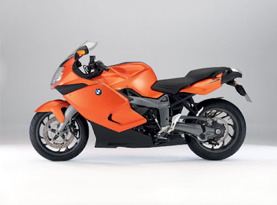 2010 BMW K1300S Orange Color