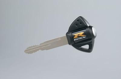 2010 Suzuki GSX-R1000Z 25th Anniversary Key Starter