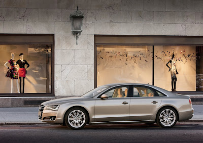 2011 Audi A8 Side View