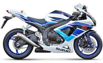 2010 Suzuki GSX-R 750 Limited Edition Motor Sport