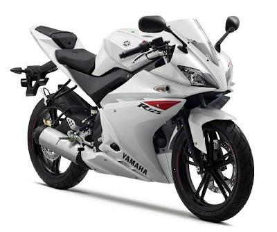 2010 Yamaha YZF-R 125 White