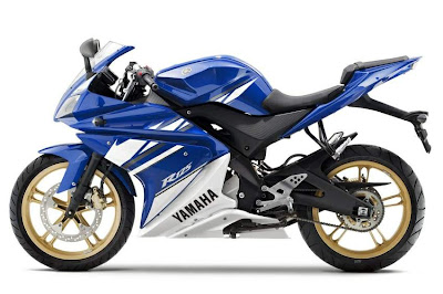 2010 Yamaha YZF-R 125 Blue Color